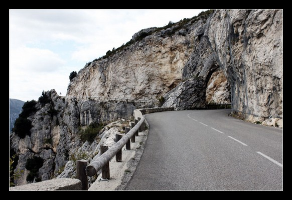 Roads in the French Mountains